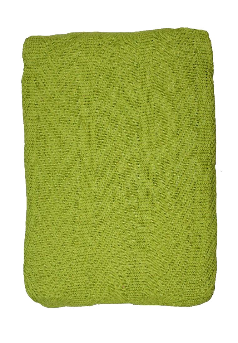Покрывало Arloni, цвет: зеленый, 225 х 225 см. 82-1011TRK00003_серыйПокрывало Arloni изготовлено из экологически чистых материалов: хлопка (50%) ибамбука (50%), поэтому подходит как для взрослых, так и для детей. Оно будет хорошо смотреться и на диване, и на большой кровати.Покрывало Arloni не только подарит тепло, но и гармонично впишется винтерьер вашего дома.