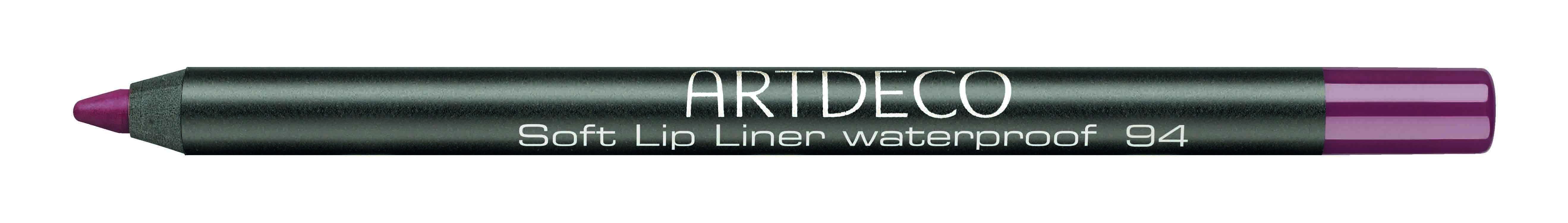 Artdeco карандаш для губ водостойкий 94 1,2гSC-FM20101Контур со стойкой текстурой и насыщенным цветом не позволяет растекаться помаде или блеску, помогает сделать чувственный макияж губ.