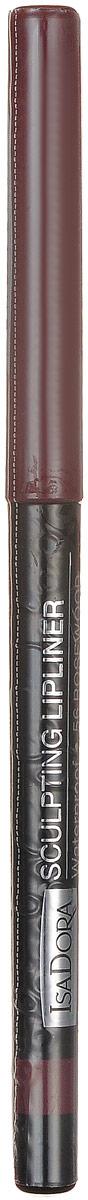 Isadora карандаш для губ водостойкий Sculpting lipliner waterproof 56 3 гр1301207Cкульптурирует губы и придает им визуальный объем, предотвращает размазывание помады и делает макияж губ более стойким.
