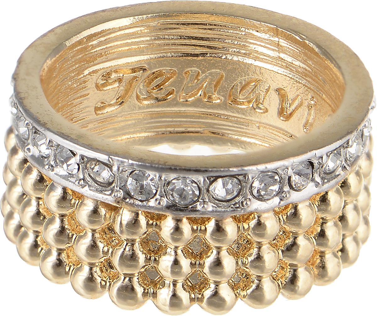 Кольцо Jenavi Relax. Дайдо, цвет: золотой, серебряный. r975q000. Размер 17Коктейльное кольцоЭлегантное кольцо Jenavi Relax. Дайдо изготовлено из гипоаллергенногоювелирного сплава. Декоративная часть оформлена кристаллами Swarovski.Внутренняя сторона изделия дополнена гравировкой с названием бренда.Такое стильное кольцо идеально дополнит ваш образ и подчеркнет вашуиндивидуальность.