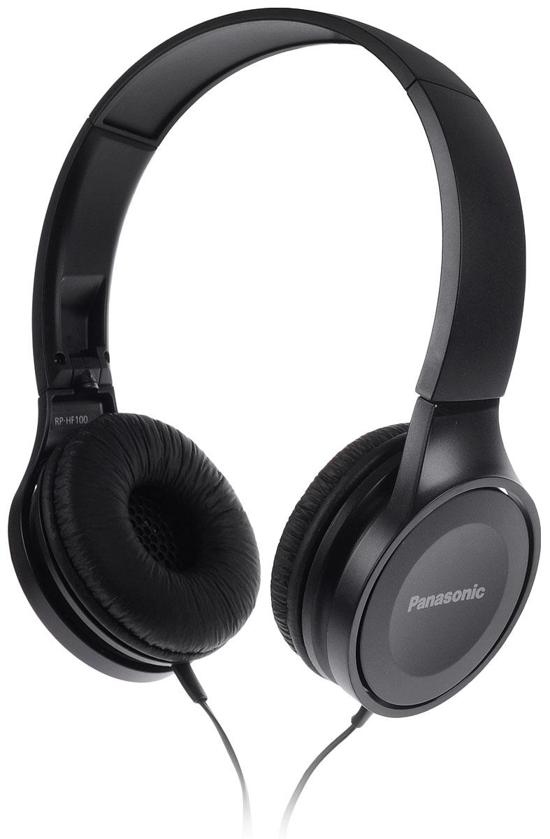 Panasonic RP-HF100GC-K, Black наушники137049-00Наушники закрытого типа Panasonic RP-HF100GC с 30-миллиметровыми динамиками подарят вам неизменно мощный и сбалансированный звук, где бы вы не находились дома, или в пути.Благодаря складной конструкции, наушники удобно брать с собой повсюду. Они очень компактные и не займут много места.Комфортное прослушивание музыкиОголовье с обеих сторон обрезано под углом, обеспечивающим эргономичную конструкцию, благодаря чему наушники надежно прилегают к ушам и голове. Также они удобны в носке из-за своего легкого веса.