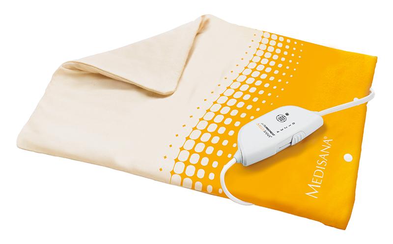 Электрогрелка Medisana HP-605PR-2WНадежное устройство HP 605 обеспечит максимальный комфорт во время применения. Использование современных решений сделало данную электрогрелку комфортным аксессуаром, идеально подходящим для людей любого возраста. Прибор автоматически отключается после 90 минут использования, гарантируя полную безопасность применения.«Сухое тепло» электрогрелки благотворно влияет на самочувствие при простудных заболеваниях, радикулите, а также полезно при крепатуре мышц после интенсивных тренировок. С помощью удобного пульта управления человек самостоятельно может регулировать интенсивность нагрева электроприбора, при этом текущие показания отображаются на встроенном светодиодном дисплее.Шнур и блок управления легко отсоединяются от основы электрогрелки, позволяя легко стирать ее, поддерживая санитарно-гигиеническое состояние. Выбирая прибор HP 605 от Medisana, вы получаете удобное средство для создания приятного тепла в любое время года. А небольшие размеры электрогрелки позволяют брать его с собой в путешествия и поездки.Технические характеристики: Автоотключение: через 90 минут Температурных режимов: 4 Мощность: 100 Вт Вес: 480 г Размеры: 33х40 см Электропитание: 220-240 В, 50 Гц
