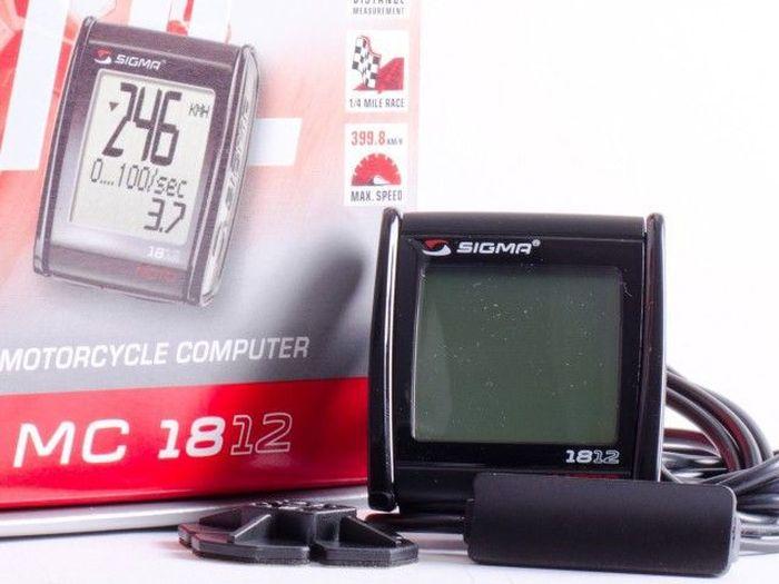 Мотокомпьютер Sigma Moto MC 18.12 Tecline, 18 функций1125040Функции: Дистанция заездаВремя заездаСредняя скоростьМаксимальная скоростьИзмерение ускоренияЗамер тормозного путиИзмерение ускорения при торможенииОбщее время поездокОбщий пробегМаксимальная скорость 250 миль/ч или 399 км/ч