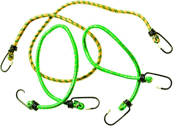 Резинки багажные Sparta, 3 штCA-3505Набор багажных ремней состоит из трех жгутов разной длины с крюками на концах. Применяется для закрепления грузов, например, на автомобильном багажнике.