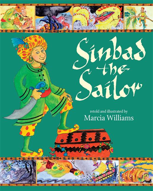 Marcia Williams Sinbad the Sailor fenix сказка на английском sinbad the sailor