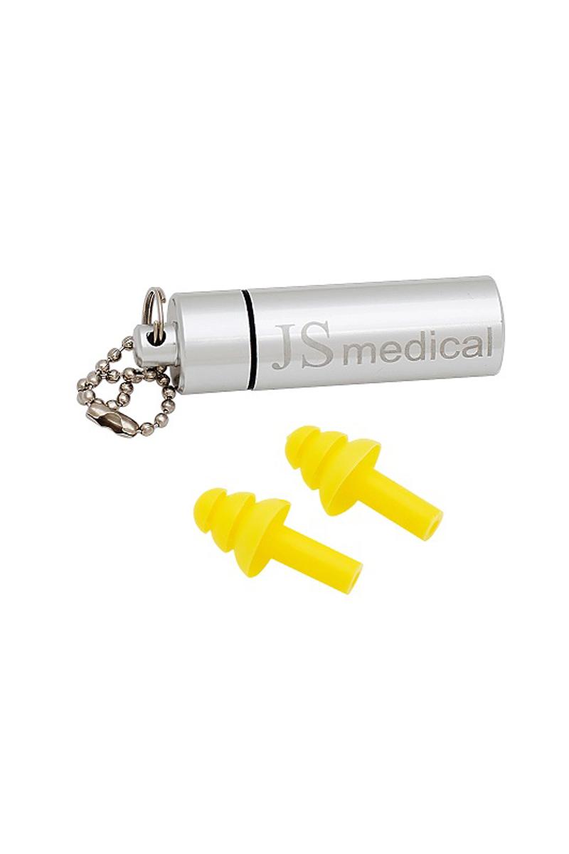 Беруши с металическим футляром для хранения JS Medical, для сна, 1 пара, 1 футляр95735-924Изготовлены из 100% силикона, благодаря этому мягкие и комфортные. Используемый силикон гипоаллергенен. Благодаря своей форме, обеспечивают многоступенчатую защиту от шума и попадания воды.