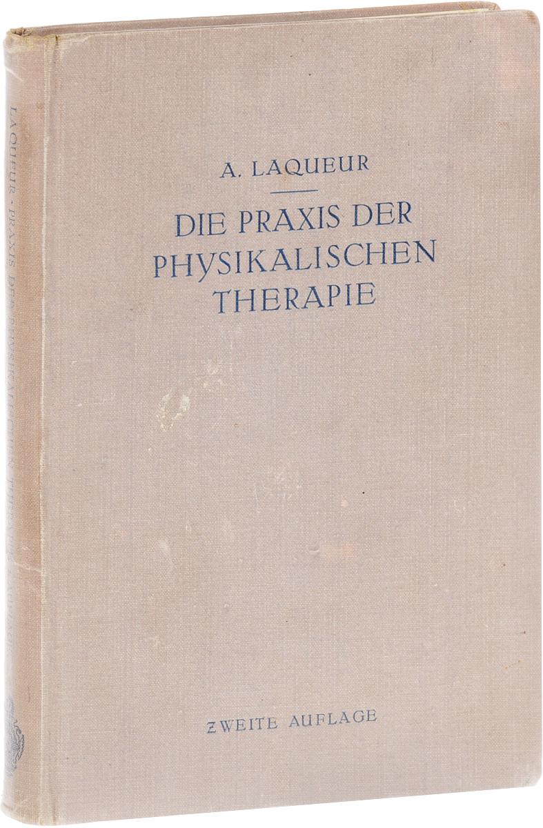 A. Laqueur Die Praxis der physikalischen Therapie утюг sinbo ssi 2887 2200вт пурпурный