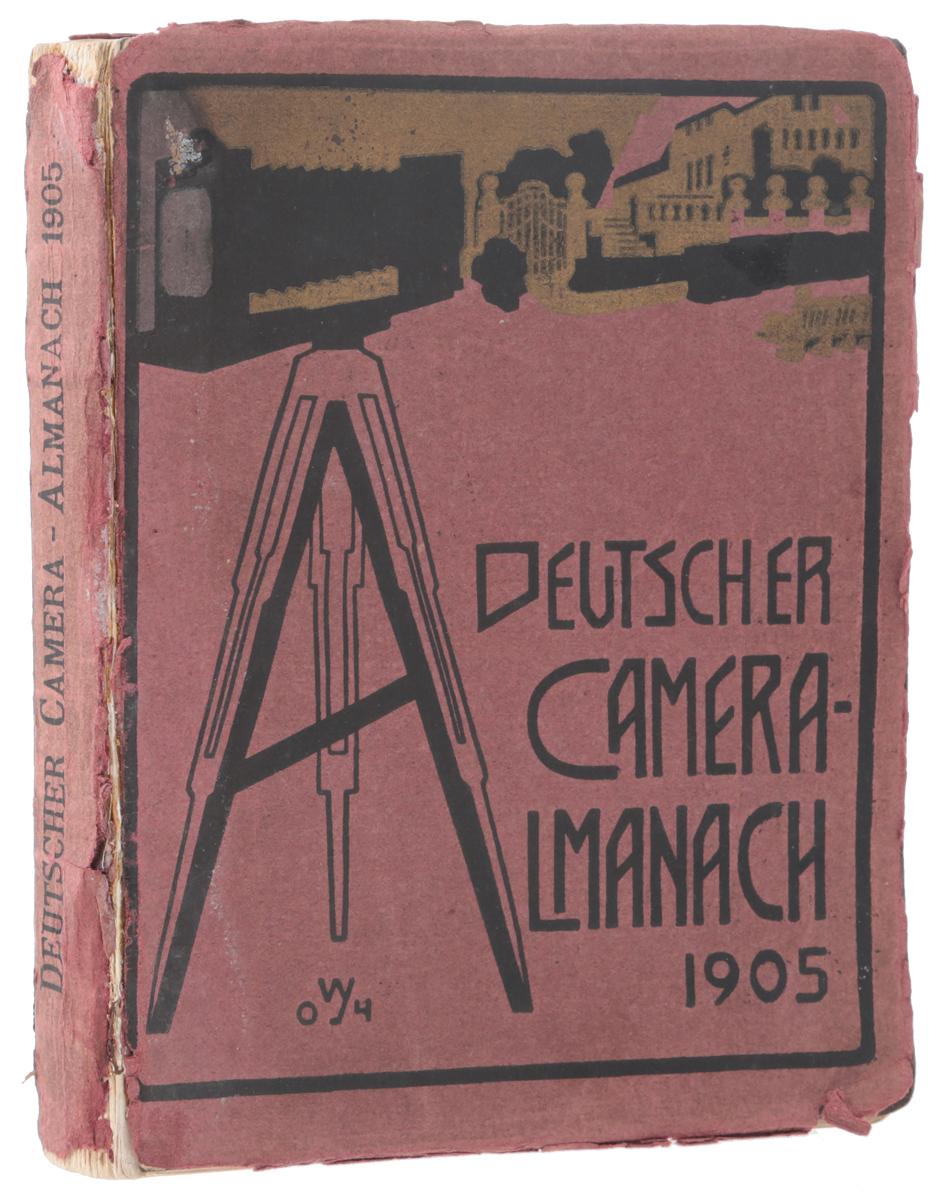 Deutscher Camera-Almanach, 19050120710Берлин, 1905 год. Издательство Verlag von Gustav Schmidt. Богато иллюстрированное издание. Типографская обложка. Сохранность хорошая. Вниманию читателей предлагается немецкий иллюстрированный альманах Deutscher Camera, издававшийся ежегодно и предназначенный для фотографов-любителей. В альманахе печатались статьи, посвященные художественным вопросам фотографии - выстраиванию композиции, особенностям портретной съемки, съемки пейзажей и архитектуры и проч. Издание богато иллюстрировано многочисленными примерами фотографий. Не подлежит вывозу за пределы Российской Федерации.