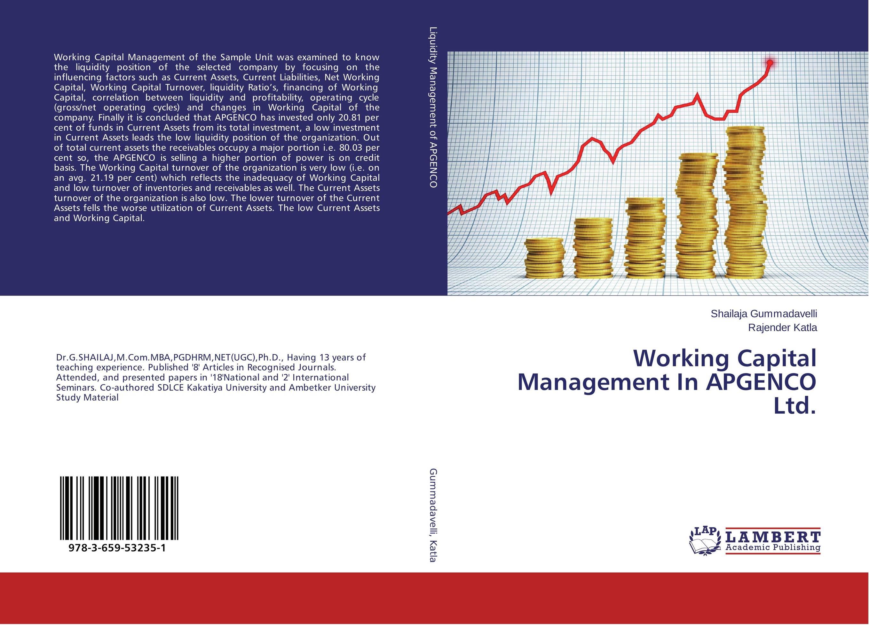 Working Capital Management In APGENCO Ltd.