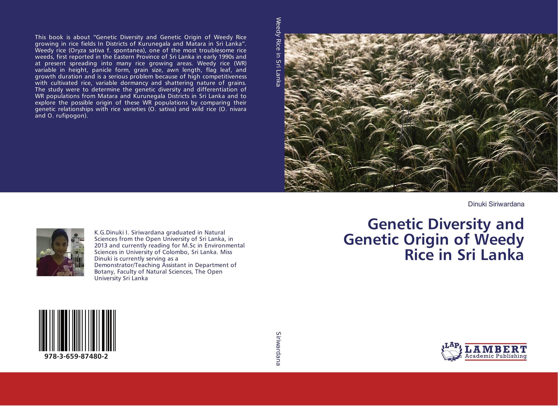 Genetic Diversity and Genetic Origin of Weedy Rice in Sri Lanka