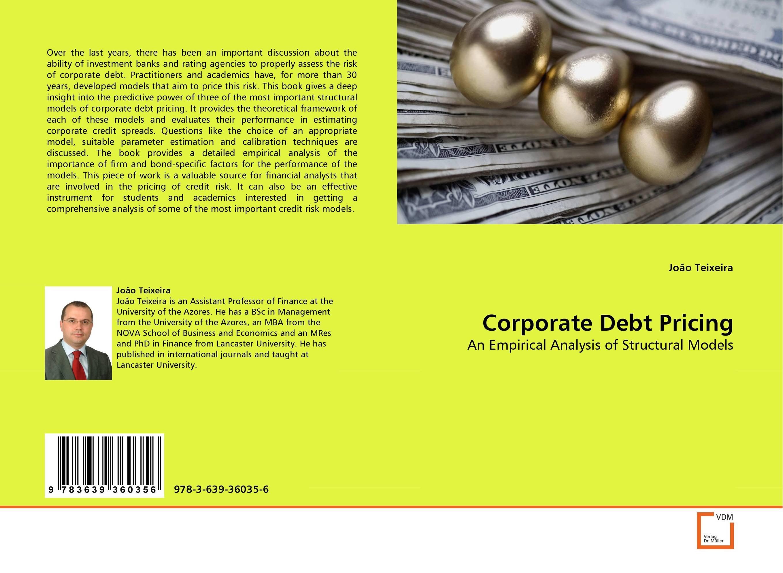 Corporate Debt Pricing