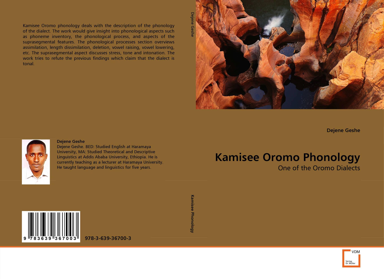 Kamisee Oromo Phonology