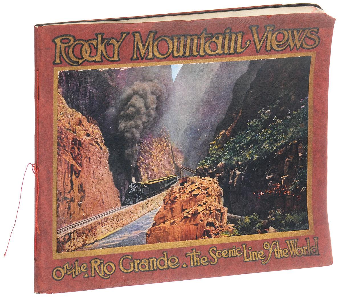 Rocky Mountain views. On the Rio Grande, Scenic Line of the World1Денвер, 1917 год. Издательство The Smith-Brooks printing company. Типографская обложка. Сохранность хорошая. Роки-Маунтин - национальный парк США, находится к северо-западу от Боулдер в Колорадо. Он известен своими видами на Скалистые горы, а также своей фауной и флорой. Живописные ландшафты Скалистых гор завораживают и манят своей красотой. Тот, кто действительно любит горы, никогда не сможет удержаться при виде восхитительных горных пейзажей, кристально чистых рек и озер. Вниманию читателей предлагается альбом, в котором собраны 23 цветные фотографии с видами Скалистых гор в Роки-Маунтин. Не подлежит вывозу за пределы Российской Федерации.