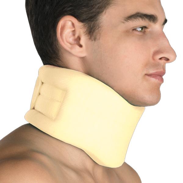 Фиксатор для шейного отдела позвоночника, мягкий. Размер 2П.278 50х35Предназначен для его фиксации, стабилизации и снижения нагрузки, а также для нормализации тонуса мышц шеи.Состав сырья: пенополиуретан – 90%, хлопок – 10%С застежкой velcro