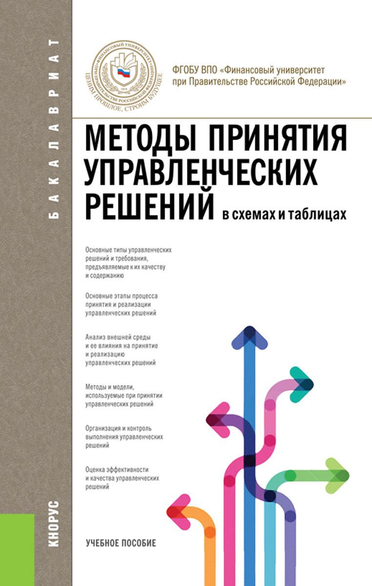 Беляева И.Ю. под ред., Панина О.В. под ред. и др.. Методы принятия управленческих решений (в схемах и таблицах) (для бакалавров)