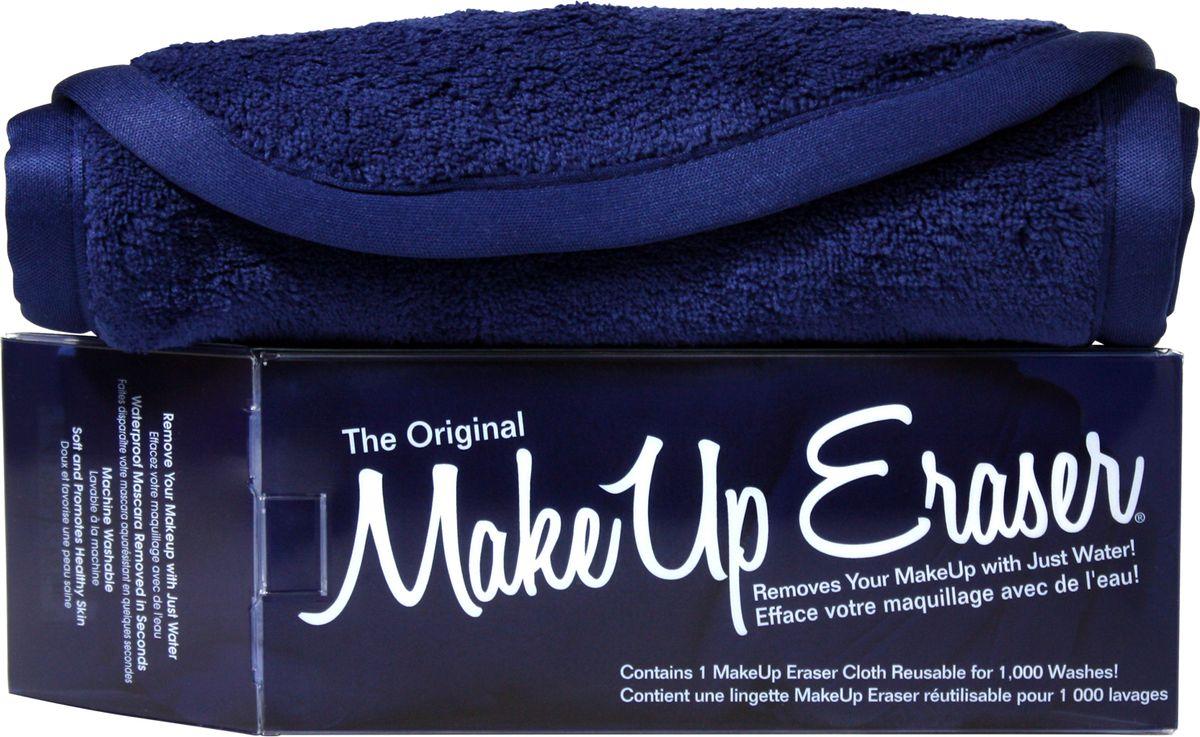 MakeUp Eraser салфетка для снятия макияжа темно-синяя2700000001028_нов.дизайнMakeup Eraser Original (темно-синяя) уникальная салфетка, которая с невероятной легкостью снимает макияж, аккуратно очищая кожу лица абсолютно естественным образом. Салфетка воздействует без применения привычных средств для удаления декоративной косметики или умывания, значительно упрощает повседневный ритуал ухода и очищения, делает его приятным и легким. Секрет магических свойств салфетки Makeup Eraser заключается в особом переплетении полиэстеровых нитей. При производстве изделия поверхность ткани не подвергается никакой химической обработке, что гарантирует ее гипоаллергенность и безопасность применения, а для того, чтобы начать процедуру использования салфетки, достаточно просто хорошо смочить ее в чистой теплой воде.Салфетку Makeup Eraser можно с успехом применять для любого типа кожи, в том числе очень чувствительной, ее мягкое воздействие не вызывает раздражений или покраснений, высокий уровень качества ткани гарантирует длительное использование салфетки, а ее великолепные очищающие и ухаживающие свойства не снижаются даже после многократных стирок изделия.