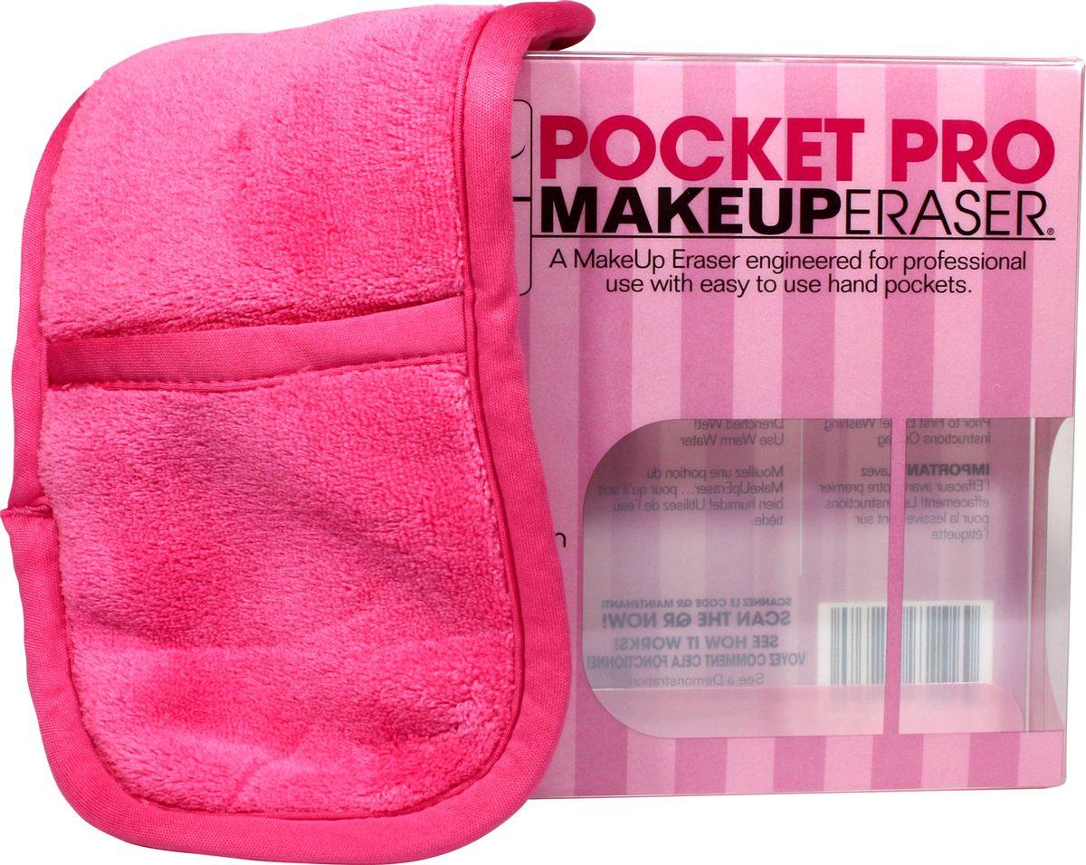 MakeUp Eraser салфетка для снятия макияжа с карманами для рукKF1120Makeup Eraser салфетка с дополнительным карманом для рук (розовая) уникальная салфетка, которая с невероятной легкостью снимает макияж, аккуратно очищая кожу лица абсолютно естественным образом. Салфетка воздействует без применения привычных средств для удаления декоративной косметики или умывания, значительно упрощает повседневный ритуал ухода и очищения, делает его приятным и легким. Секрет магических свойств салфетки Makeup Eraser заключается в особом переплетении полиэстеровых нитей. При производстве изделия поверхность ткани не подвергается никакой химической обработке, что гарантирует ее гипоаллергенность и безопасность применения, а для того, чтобы начать процедуру использования салфетки, достаточно просто хорошо смочить ее в чистой теплой воде.Салфетку Makeup Eraser можно с успехом применять для любого типа кожи, в том числе очень чувствительной, ее мягкое воздействие не вызывает раздражений или покраснений, высокий уровень качества ткани гарантирует длительное использование салфетки, а ее великолепные очищающие и ухаживающие свойства не снижаются даже после многократных стирок изделия.