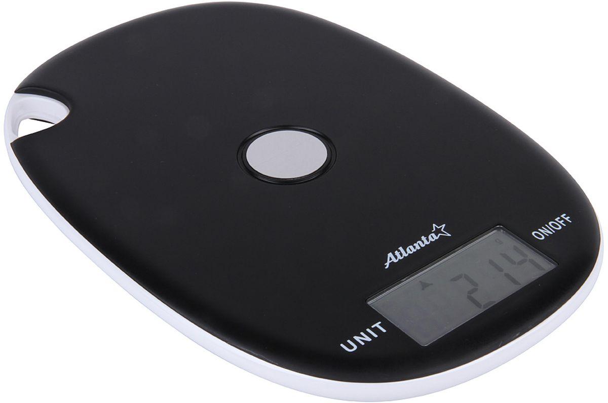 Atlanta ATH-6211, Black весы кухонныеPCM 1517AEЯркий ЖКИ дисплей нового поколения 59 x 28 мм Удобно хранение на релинге Сенсорные кнопки Высокая точность взвешивания 1 г Функция обнуления веса Авто отключение Предел взвешивания 5 кг Переключение режимов: g/lb/oz/kg Индикатор слабых батареек Индикатор перегрузки Работает от 2 х 1,5 В батареек тип ААА