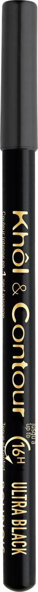 Bourjois Контурный Карандаш Для Макияжа Глаз Khol & Contour New 71 тон (ultra black)1301207Мягкая текстура, насыщенные пигментированные оттенки. Стойкость до 16 часов. Подходит для чувствительных глаз благодаря витамину Е и экстракту зеленого чая.