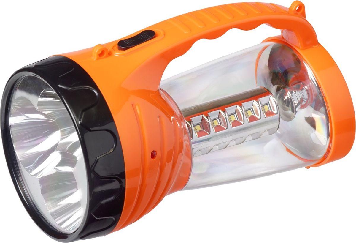 Фонарь ручной FOCUSray. FR-1260KOCAc6009LEDИсточник питания - свинцово-кислотный аккумулятор 2x4v0,8Ah Источник света :1 W +24SMD диодов Время работы до 180 мин Дальность освещения до 200 метров Торговая упаковка: коробка Зарядка от сети 220 В