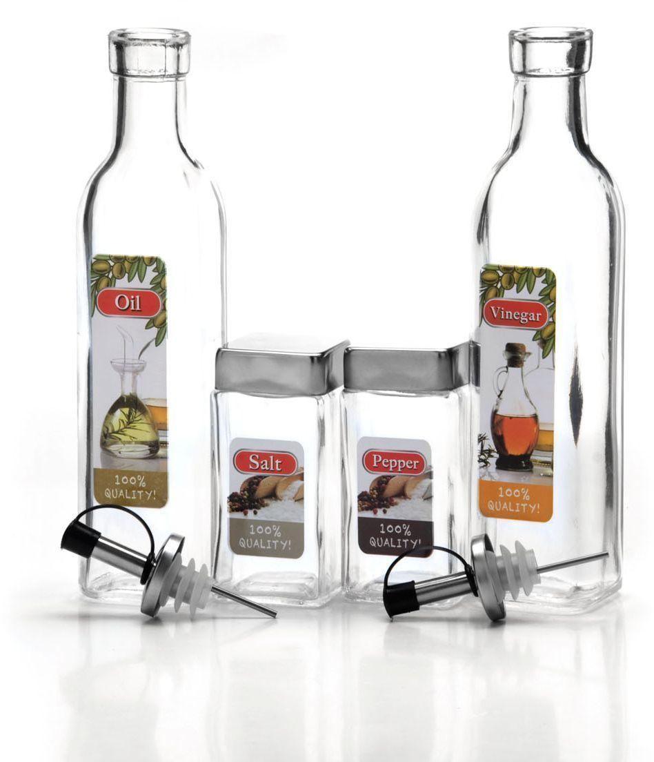 Набор для хранения специй Mayer&Boch, 4 предмета . 26675VT-1520(SR)Этот набор из высококачественного стекла, идеально подходит для любой кухни. Модный, элегантный дизайн, скрасит интерьер Вашей кухни. Баночки можно наполнять любыми, используемыми Вами специями. Герметичное закрытие, обеспечит самое лучшее хранение. Специи всегда будут свежими. Специальная подставка, делает хранение баночек еще более удобным. Наслаждайтесь приготовлением пищи с Вашим набором баночек для специй.