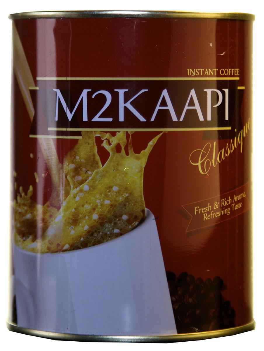 M2Kaapi кофе растворимый гранулированный, 200 г0120710100% натуральный кофе растворимый гранулированный M2Kaapi. Кофе не содержит искусственных добавок и ароматизаторов, содержит 3,77 % кофеина.