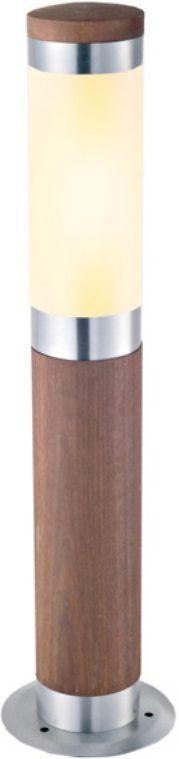 Светильник уличный Duwi Stelo Wood, цвет: дерево, 500 мм. 24112 624140 9Наземный уличный светильник для сада - столбик высотой 50 см входит в состав серии Stelo Wood. Оригинальные светильники цилиндрической формы, корпус которых изготовлен из высококачественной стали с элементами натурального дерева (тик), подчеркнут ваш стиль и индивидуальность.
