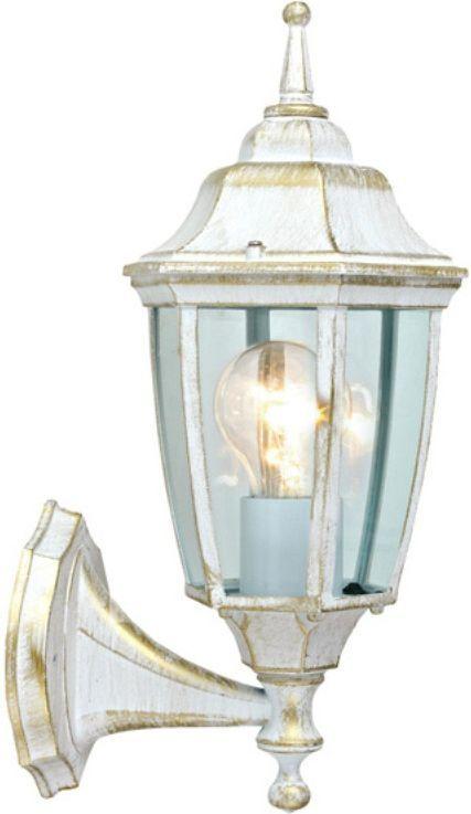 Светильник уличный Duwi Sheffield, цвет: белое золото, 390 мм. 25727 1NLED-444-7W-WНастенный светильник бра вверх серии Sheffield выполнен в средневековом стиле. Цвет - белый с золотом.