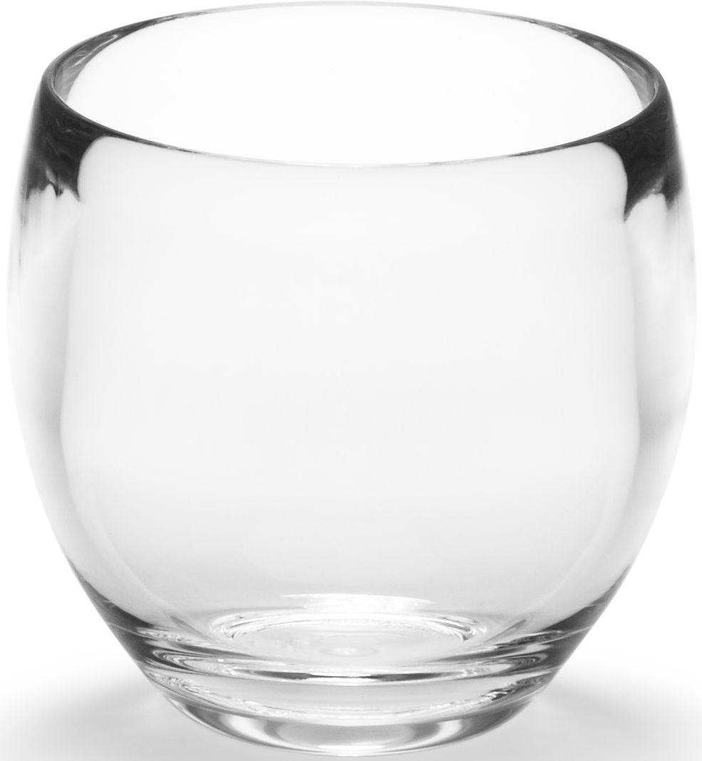 Стакан для ванной Umbra Droplet, цвет: прозрачный, 10 х 14 х 9 см391602Стакан для ванной - это тот маленький, почти незаметный, но очень важный предмет, который мы используем ежедневно для полоскания рта или даже просто как подставку для щеток. Он нужен всем и всегда, это бесспорно. Но как насчет дизайна? В Umbra уверены: такой простой и ежедневно используемый предмет должен выглядеть лаконично и необычно. Ведь в небольшой ванной комнате не должно быть ничего вызывающе яркого. Немного экспериментировав с формой, дизайнеры создали стакан Droplet, который придется кстати в любом доме!