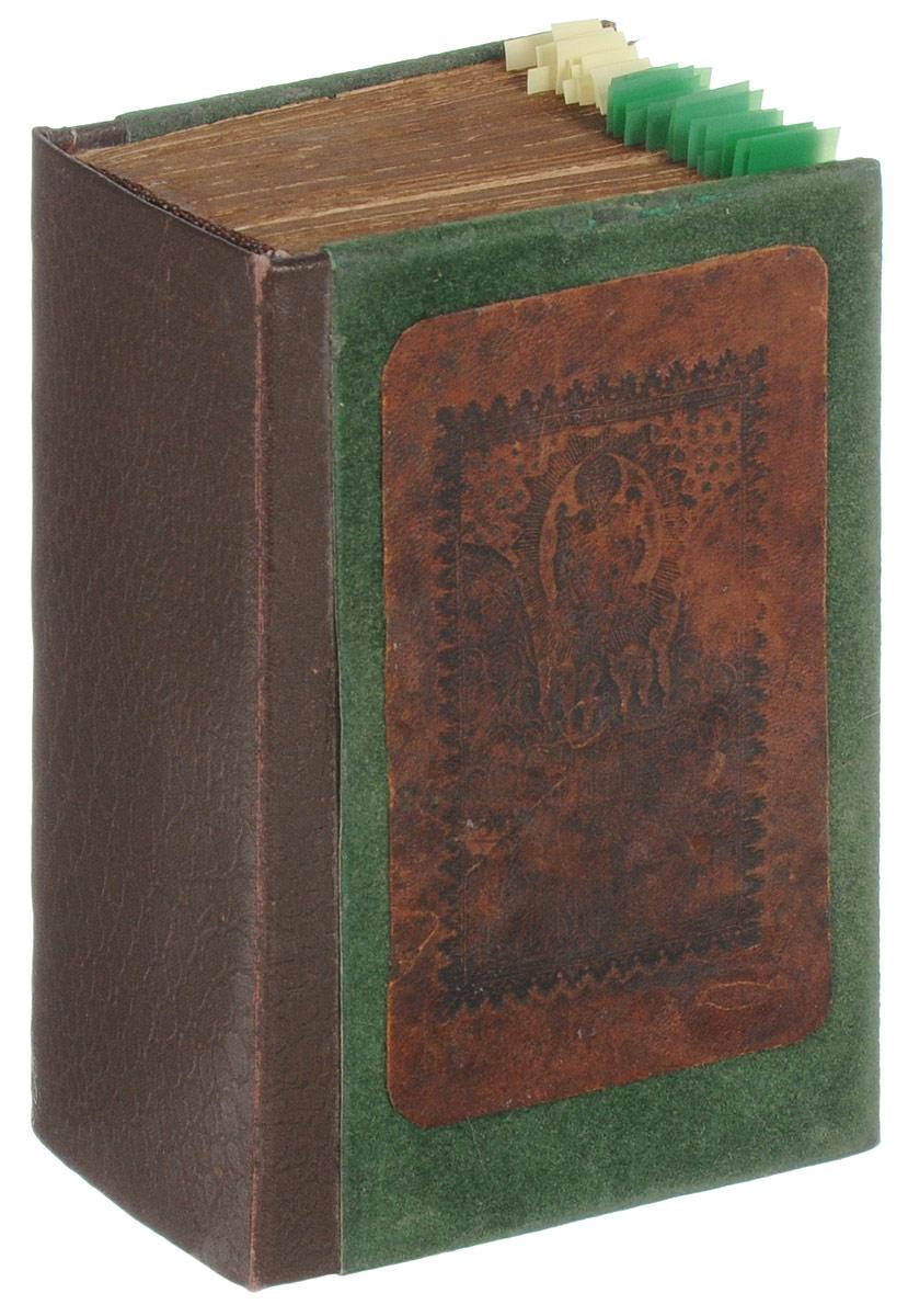 Канноник (с 45 гравюрами своего времени)1562Российская империя, первая четверть XIX века. Издательство не указано. Иллюстрированное издание с 45 гравюрами своего времени. Владельческий переплет. Сохранность хорошая. Канонник - богослужебная книга, содержащая в себе избранные каноны Богоматери, бесплотным силам и др., а также некоторые другие молитвы. Канонник используется преимущественно в церковном богослужении, но может быть использован и в келейной (домашней) молитве вместо молитвослова, т.к. содержит утренние и вечерние молитвы, а также правило ко святому причащению. Канонник как тип книги был весьма нестабилен по своему содержанию, как в рукописной, так и в печатной традиции. Даже в XIX веке печатные старообрядческие Канонники могли существенно отличаться друг от друга. Их содержание к XIX веку существенно расширилось и включало большое разнообразие канонов церковным праздникам и святым. В Канонниках традиционно печатались самые необходимые каждому верующему человеку тексты - каноны за...