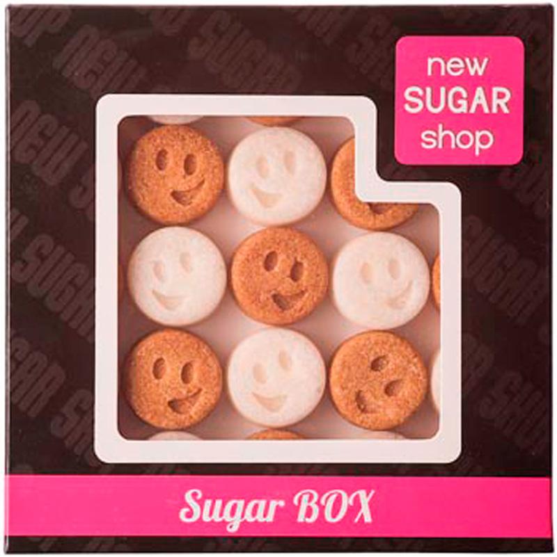 Sugar Box Смайлики фигурный сахар, 260 г0120710Производитель делает с любовью своими руками оригинальные формы для вашего стола, юбилея или в подарок. Порадуйте себя и своих близких оригинальными формами сахара. С фигурным сахаром ваше чаепитие будет неповторимым.