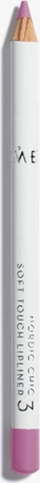 Lumene Nordic Chic Мягкий карандаш для губ №031301207Мягкий карандаш для губ отлично подойдет для создания четкого и насыщенного контура или в виде праймера. Карандаш надежно фиксирует губную помаду в течение всего дня.
