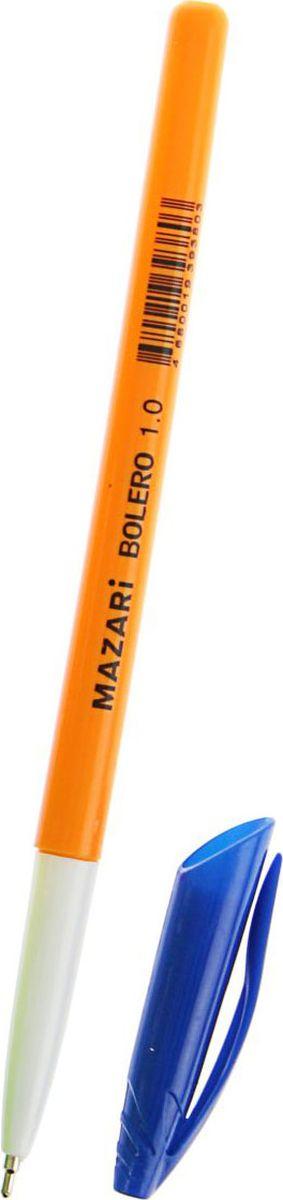 Mazari Ручка шариковая Bolero синяя610842Ручка шариковая Bolero, узел 1.0мм, синие чернила, игольчатый пишущий узел поможет организовать ваше рабочее пространство и время.Востребованные предметы в удобной упаковке будут всегда под рукой в нужный момент. Изделия данной категории необходимы любому человеку независимо от рода его деятельности. У нас представлен широкий ассортимент товаровдля учеников, студентов, офисных сотрудников и руководителей, а также товары для творчества.