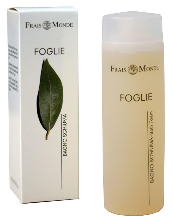 Frais Monde Гель для душа - Пена для ванны с ароматом листев, 200 млБ33041_шампунь-барбарис и липа, скраб -черная смородинаНежная и мягкая пена для расслабляющей ванны, обволакивает кожу и оставляет приятный аромат. Благодаря особой мягкой формуле пену для ванны можно использовать в качестве геля для душа. После принятия ванны кожа становится бархатной и увлажненной Не содержит парабенов, ПЭГ и никеля.