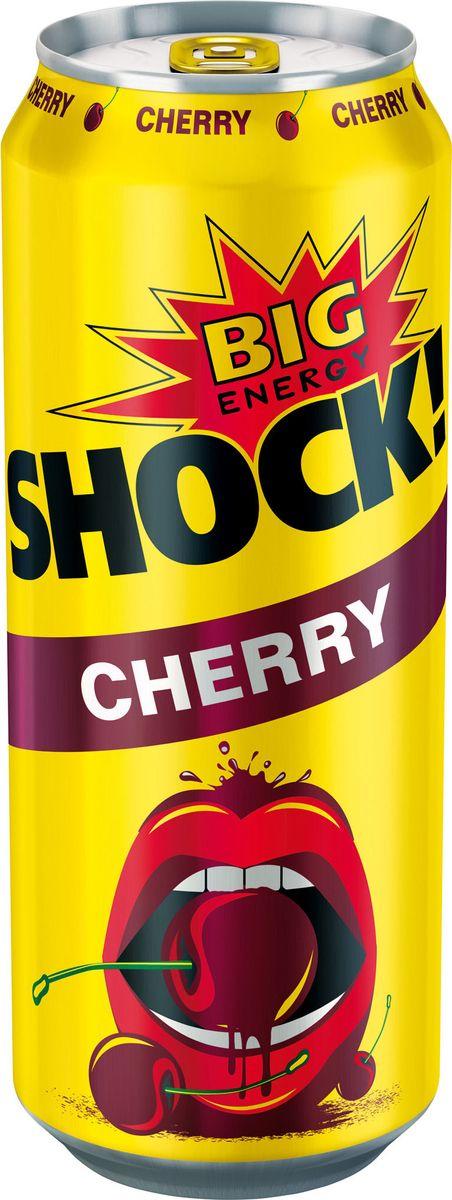 Bigshock! Cherry энергетический напиток, 0,5 л0120710Bigshock! - энергия со вкусом. Освежающий ароматный напиток, содержащийнатуральный кофеин, таурин, витамины и 10% фруктового сока. Умереннаягазация. Долгое послевкусие. Неподражаемый вкус. Взбудораживающий эффект.Снимает усталость и освежает внимание. Подходит для увеличения физическойактивности. Употреблять охлажденным!