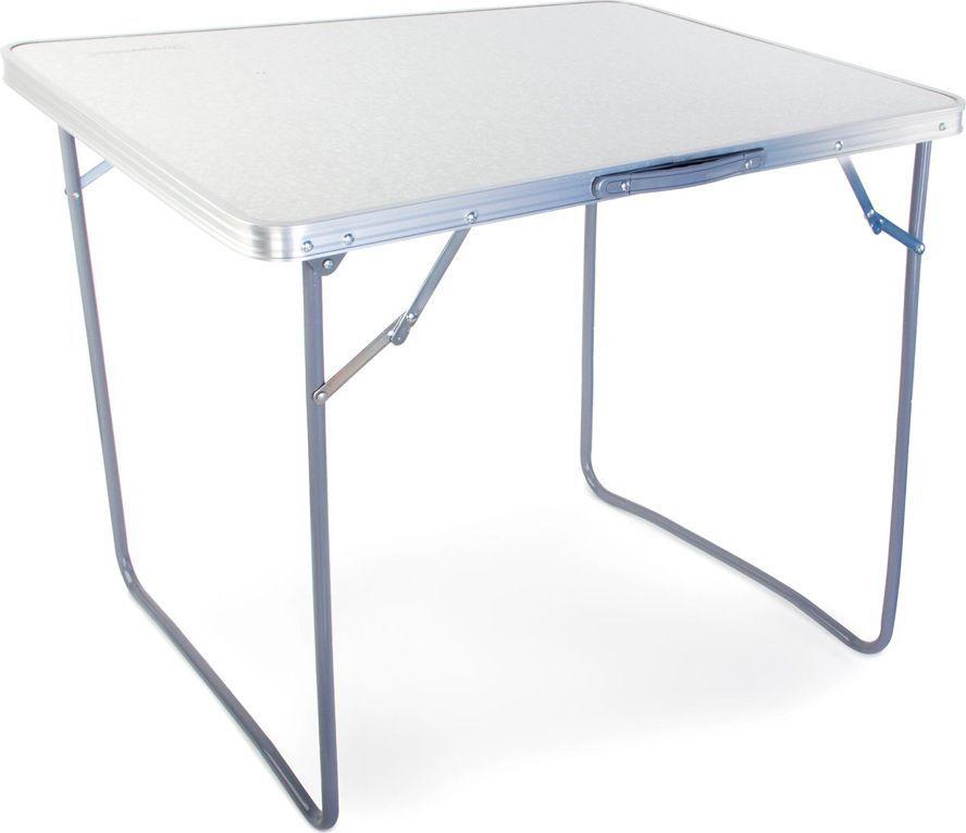 Стол складной Greenwood TA-02 Ind, цвет: белый, 80 х 60 х 70 см09840-20.000.00Размер: 80 х 60 х 70 см Материал ножек: сталь Диаметр ножек: 16 мм Вес: 3,2 кг Материал столешницы: МДФ Максимальная нагрузка на стол: 30 кг