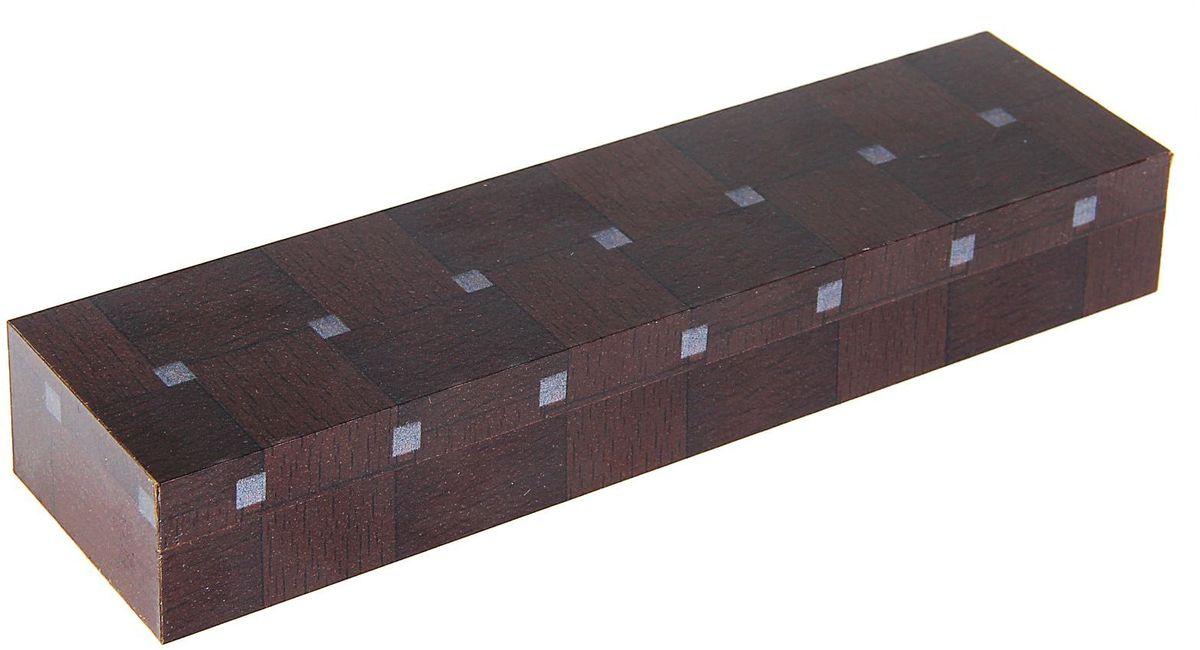 Calligrata Футляр для ручек Квадраты цвет темно-коричневыйFS-00103Ручка давно стала популярным сувениром в деловой среде, это элемент стиля и свидетельство статуса. Первоклассные, качественные ручки, зачастую, стоят довольно дорого и требуют особого внимания. Футляр для подарочных ручек деревянный темо-ореховый Квадраты - необходимый аксессуар для подарочной ручки. Он предотвратит ее от царапин и повреждений, с которыми ручка неминуемо будет сталкиваться в кармане, портфеле или в ящике письменного стола.