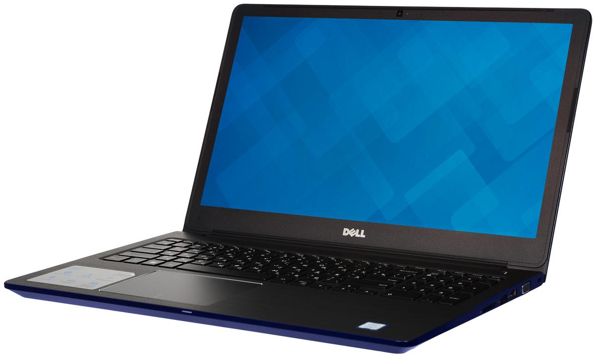 Dell Vostro 5568-9057, Blue90NB0C71-M0081015-дюймовый ноутбук Dell Vostro 5568, рассчитанный на производительность в типичном малом бизнесе,оснащенный клавиатурой с подсветкой, цифровой клавиатурой и функциями безопасности. Устройство имеетулучшенную легкую конструкцию и стильный внешний вид.Простота расширения: конфигурация с двумя накопителями, жестким диском и твердотельным диском, а такжедвумя разъемами для модулей SoDIMM DDR4 означает, что вашу систему можно будет модернизировать по меренеобходимости.Превосходное изображение, четкий звук: яркий антибликовый дисплей с разрешением Full HD выдаетвпечатляющую картинку. Встроенная веб-камера с разрешением HD и программное обеспечение Waves MaxxAudioPro позволяют при удаленной работе слышать друг друга исключительно четко.Дополнительное удобство: точная сенсорная панель, цифровая клавиатура и дополнительная клавиатура сподсветкой делают работу более удобной.Надежная связь. Благодаря широкому набору портов, включая USB 3.0 и 2.0, HDMI, VGA и Gigabit Ethernet, а такжесчитывателю карт памяти SD подключение никогда не будет проблемой.Защитите свой малый бизнес: аппаратный модуль TPM 2.0 обеспечивает аппаратную защиту коммерческогокласса, а также хранит ключи шифрования, позволяющие идентифицировать ваше устройство.Точные характеристики зависят от модификации.Ноутбук сертифицирован EAC и имеет русифицированную клавиатуру и Руководство пользователя.