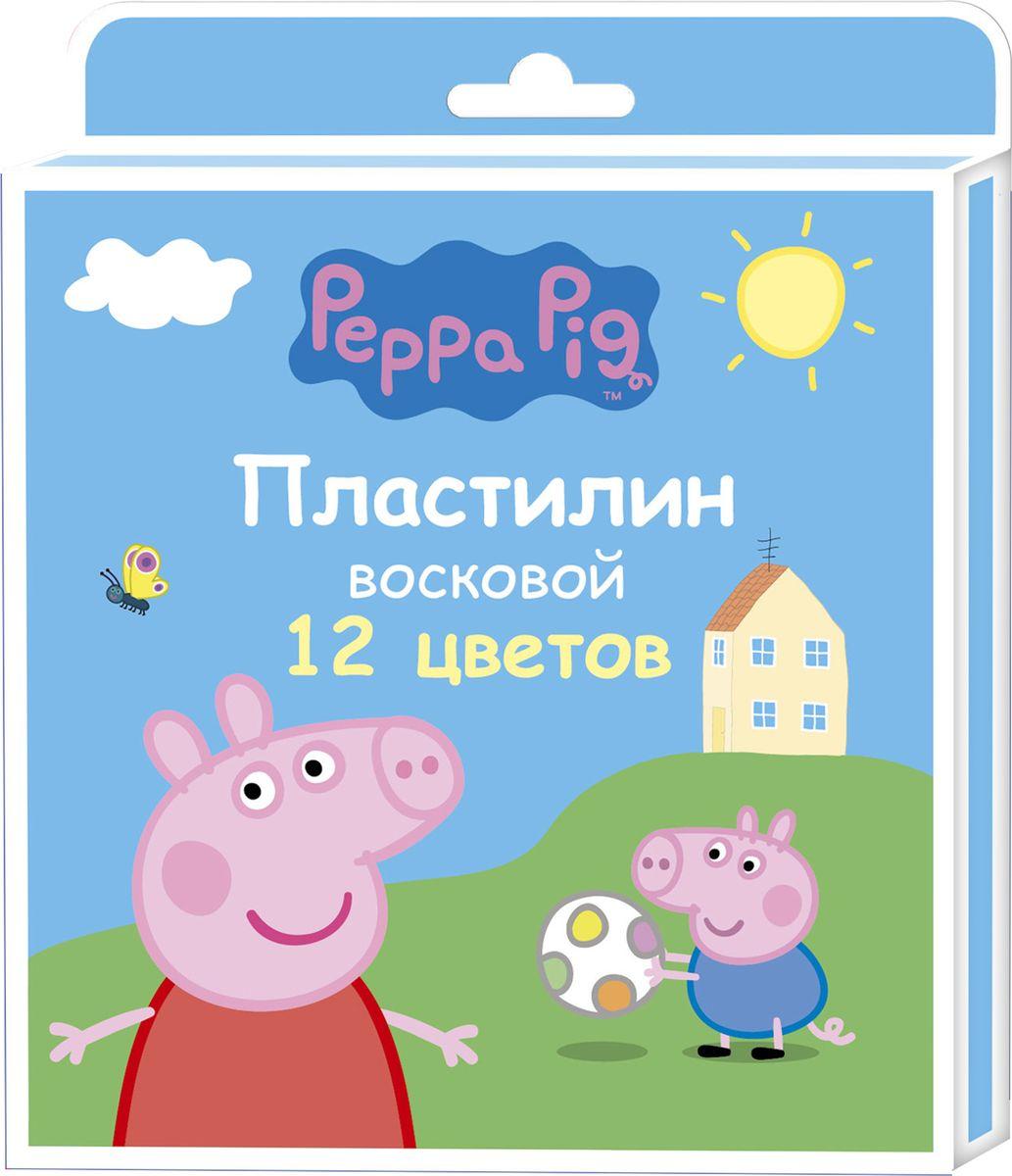 Peppa Pig Пластилин восковой Свинка Пеппа 12 цветов15293Яркий восковый пластилин Свинка Пеппа поможет вашему малышу создавать не только прекрасные поделки, но и рисунки. Изготовленный наоснове природного воска и натуральных наполнителей, он обладает особой мягкостью и пластичностью: легко разминается и моделируетсядетскими пальчиками, не пачкается, не прилипает к рукам и рабочей поверхности, не крошится, не высыхает, хорошо держит форму, его цветалегко смешиваются друг с другом. Создавайте новые цвета и оттенки, лепите, рисуйте и экспериментируйте, развивая при этом у ребенка мелкуюмоторику, тактильное восприятие формы, веса и фактуры, воображение и пространственное мышление. А любимые герои будут вдохновлятьюного мастера на новые творческие идеи.В наборе Свинка Пеппа 12 ярких цветов воскового пластилина по 15 г и пластиковая стека. Состав: парафин, петролатум, мел, каолин,красители.
