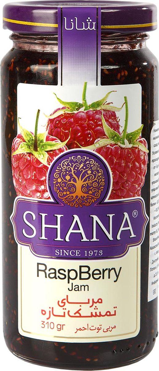 Shana джем малиновый, 310 г0120710ДжемыShana- это не только душистое и вкусное лакомство, но и хороший способсохранения витаминов лета.Джемы готовятся таким образом, чтобы ингредиентысохраняли свою форму. Вы сможете полакомиться кусочками фруктов исоцветиями и получите удовольствие от ощущения натуральности продукта.Сироп в джемахShana присутствует только в необходимом количестве, основнуюмассу джемов составляют фрукты, ягоды и другие компоненты. Малинапредставляет собой настоящее вкусное лекарство, применяется в традиционнойнародной медицине в качестве противовоспалительного и жаропонижающегосредства (малина обладает этими свойствами в любом виде благодаряприсутствию салициловой кислоты).