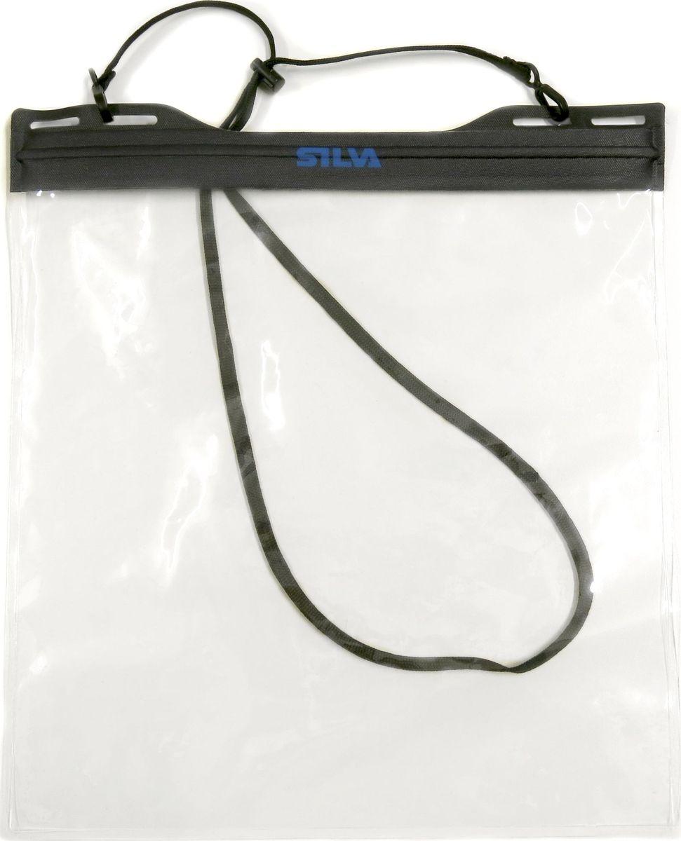 Гермочехол для телефона и документов Silva Carry Dry Case, цвет: черный. Размер M9710Герметичный чехол для телефона и документов -быстро и легко закрывается и открывается -шейный ремешок -размер 218?110 mm -вес 46 гр -материал TPU/PA