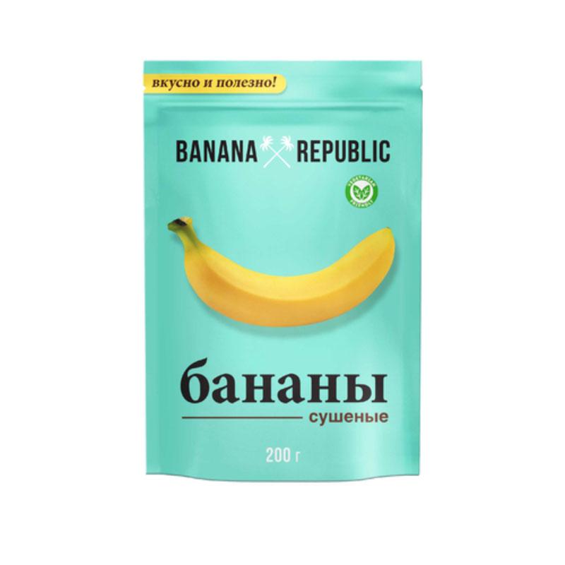 Banana Republic банан сушеный, 200 г0120710Banana Republic - это отборные спелые бананы, собранные вручную на плантациях Таиланда и вяленые естественным образом под лучами жаркого солнца. Вяленые бананы, облитые глазурью, являются изысканным десертом, который поднимает настроение и восстанавливает силы. Бананы Banana Republic - вкусный заряд жизненный энергии.