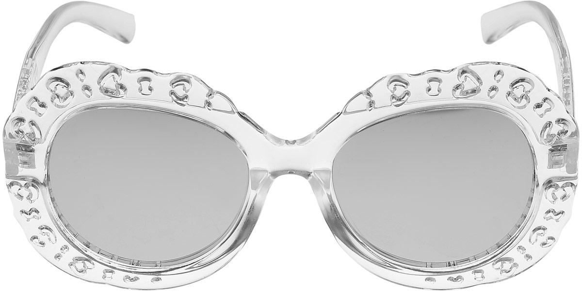 Очки солнцезащитные женские Vitta pelle, цвет: белый. 1301-2017-5563BM8434-58AEСтепень защиты от ультрафиолетовых лучей - 400UV.