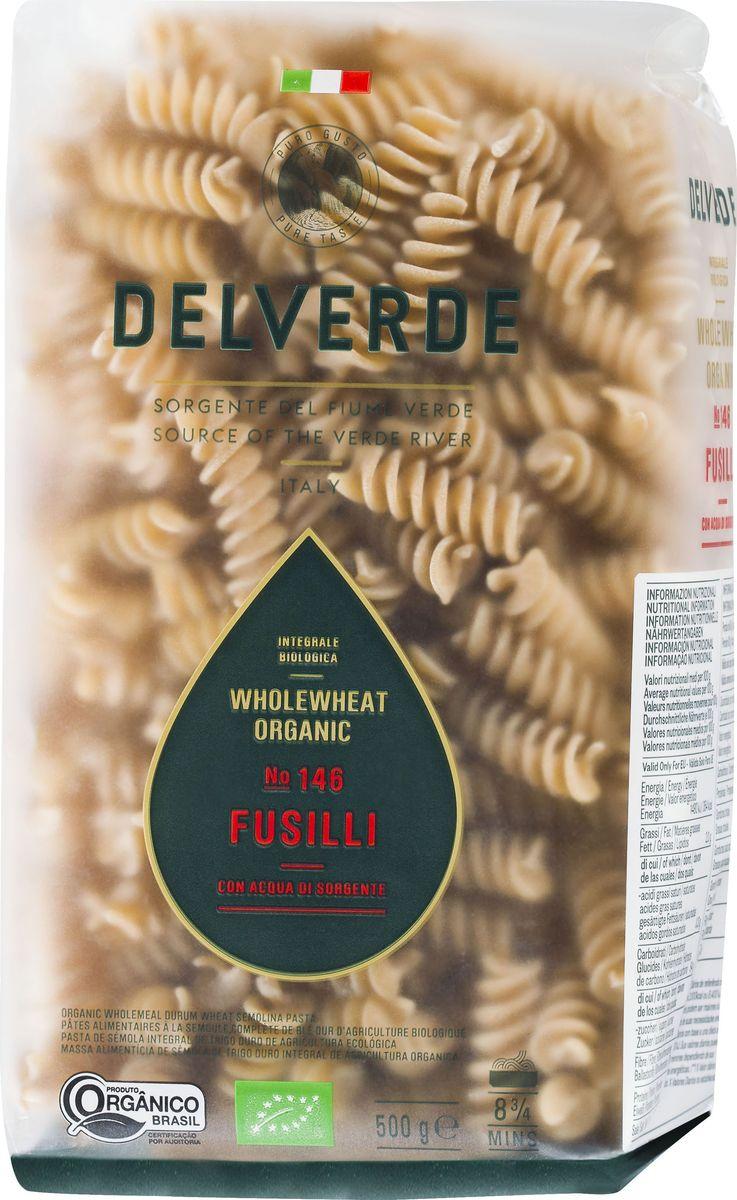 Delverde № 146 паста Фузилли Биолоджика с отрубями, 500 г0120710Фузилли Delverde - короткая трубчатая паста среднего размера. Великолепносочетается с сливочными, мясными и рыбными соусами. Подходит дляприготовления салатов. Компания Delverde Industrie Alimentari S.p.a начала свою историю в середине XXвека в Фаре, доведя до совершенства искусство традиционного производствопасты. Традиция изготовления пасты в историческом поселении Фара СанМартино известна по всему миру с XVII века: именно здесь производителивпервые научились искусству смешивать зерна пшеницы с чистейшей водой рекиВерде. Фара Сан Мартино до сих пор славится как одна из мировых столиц пасты.С самого начала миссией компании было производить и предлагать мирувысококачественные продукты из высококачественных ингредиентов. КомпанияDelverde до сих пор работает в соответствии с наилучшими итальянскимигастрономическими и промышленными традициями. Для приготовления пастыDelverde используются только отборные, отлично сочетающиеся друг с другомингредиенты: чистейшая вода из реки Верде и зерна самой качественной твердойпшеницы. Варить в кипящей подсоленной воде 9 минут.