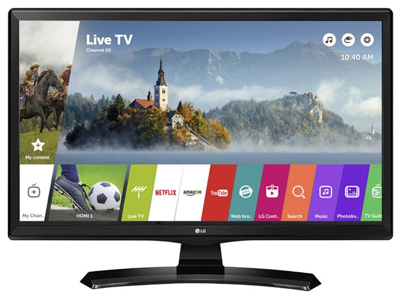 LG 28MT49S-PZ телевизорLEA-28U62WТВ монитор LG 28MT49S-PZ имеет двойное назначение, он сочетает в себе свойства и телевизора и компьютерного монитора. Режим PIP позволит вам смотреть кино и футбол одновременно на одном экране.Насладитесь встроенным Wi-Fi и легким процессом соединения телевизора с внешними устройствами. Просматривайте контент смартфона на большом экране.Благодаря операционной системе webOS 3.5 вы легко найдете нужный контент. Фирменный пульт Magic Remote позволит вам затратить меньше времени на поиск необходимой информации.Вдохновленный красотой и силой природы, дизайн ArcLine дополнит любой изысканный интерьер. Реалистичное качество изображенияс превосходной точностью цветопередачи. Из любого положения картинка будет просматриваться без искажений.Наслаждайтесь фильмами или играми с реалистичным стерео звуком. Благодаря встроенным стерео динамикам, нет необходимости в дополнительных колонках.Разместите телевизор на стене и сэкономите дополнительное пространство в вашем интерьере.