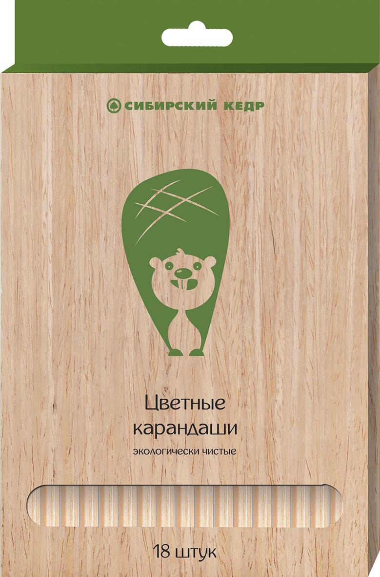 СКФ Набор цветных карандашей Сибирский кедр Eco 18 штSMA510-V8-ETКарандаши сделаны из Сибирского кедра, без какой либо химической обработки. Активно набирающая популярность тематика ЭКО. Европейский экодизайн, передающий натуральность материалов. Лаконичные цвета.