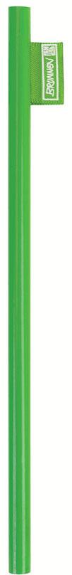 Brunnen Карандаш чернографитный цвет корпуса зеленыйFS-00897Чернографитовый карандаш Brunnen - необходимый предмет на каждом письменном столе. Корпус карандаша выполнен из высококачественной и натуральной древесины, а его эргономичная форма позволяет карандашу удобно ложиться в руку и обеспечивает комфортное письмо. Карандаш легко затачивается. Чернографитовый карандаш пригодится как в учебе, так и на работе.