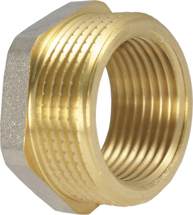 Smart Футорка (переходник) 1х1/2 н/в NS655.01Футорка (переходник) 1х1/2 SMART имеет наружную резьбу для соединения с трубой большего диаметра и внутреннюю резьбу для соединения с трубой меньшего диаметра. Футорки используются в основном в системах отопления и водоснабжения, но допускается использование футорок и в других средах, таких как пар, газ, нефть и пр. Нормативный срок службы: 30 лет Максимальная рабочая температура: +200°С Максимальное рабочее давление: 40 бар.