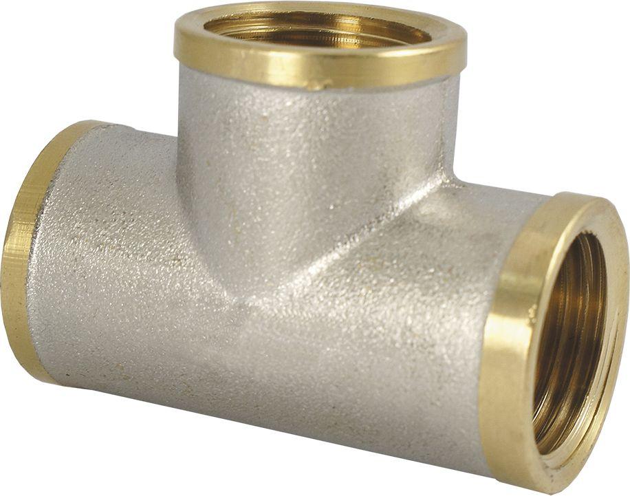 Smart Тройник 3/4 в/в/в NS68/5/2Тройник SMART 3/4 - это резьбовая соединительная деталь, которая используется для создания разъемных резьбовых соединений на трубопроводах холодного питьевого, хозяйственного и горячего водоснабжения, отопления, сжатого воздуха и на технологических трубопроводах, транспортирующих газы и жидкости, неагрессивные к материалу соединителей. Нормативный срок службы: 30 лет Максимальная рабочая температура: +200°С Максимальное рабочее давление: 40 бар.