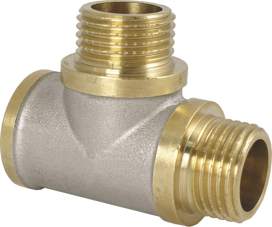 Smart Тройник 1/2 в/н/н NS68/5/2Тройник SMART 1/2 - это резьбовая соединительная деталь, которая используется для создания разъемных резьбовых соединений на трубопроводах холодного питьевого, хозяйственного и горячего водоснабжения, отопления, сжатого воздуха и на технологических трубопроводах, транспортирующих газы и жидкости, неагрессивные к материалу соединителей. Нормативный срок службы: 30 лет Максимальная рабочая температура: +200°С Максимальное рабочее давление: 40 бар.